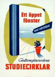 Affisch - Ett öppet fönster mot välden