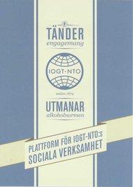 IOGT-NTO:s plattform för social verksamhet
